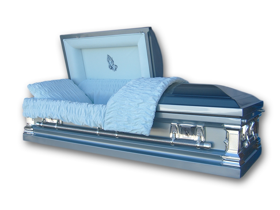 Noble Stainless Steel Casket